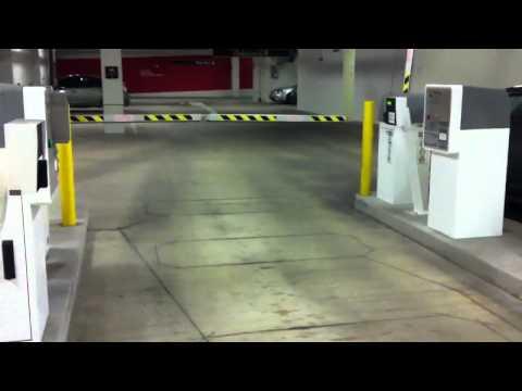 UW Medical Center garage bike parking at SLU campus located behind bike barriers.