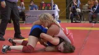 2015 Guelph FW55kg Liz Sera (YWHA)  vs Julie Steffler (LonWest)