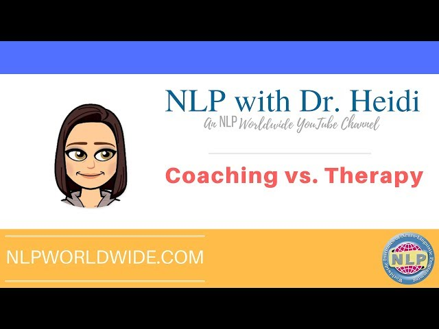 NLP Coaching Vs. NLP Therapy