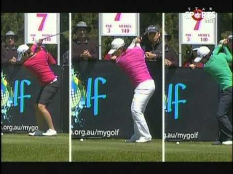 2011 ISPS  Australian Open Round 4-1 (Yani Tseng)