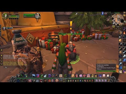 christmas in world of warcraft - World Of Warcraft Christmas