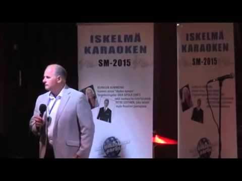 Iskelmä SM-Karaoke 2015 Finaali: Johan Westerberg - Salattu suru