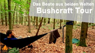 Best of both worlds Bushcraft Overnighter Tour.
