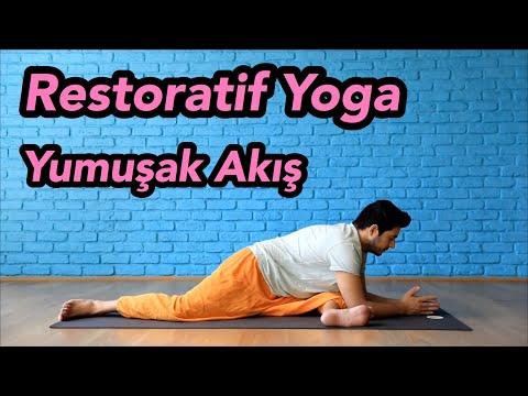 """""""Yumuşak Akış"""" Yoga Dersi (Yorgun Günlerinizi Canlandırmak Için!)   Restoratif Yoga"""
