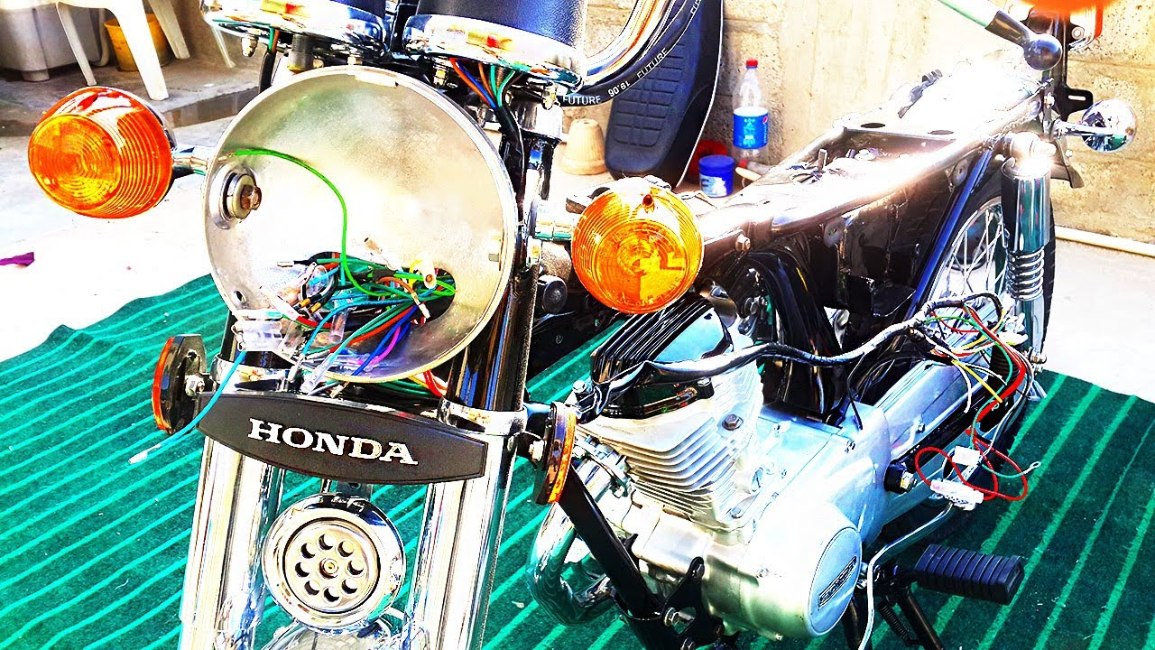 How To Wire Complete Honda Cg-125 Wiring