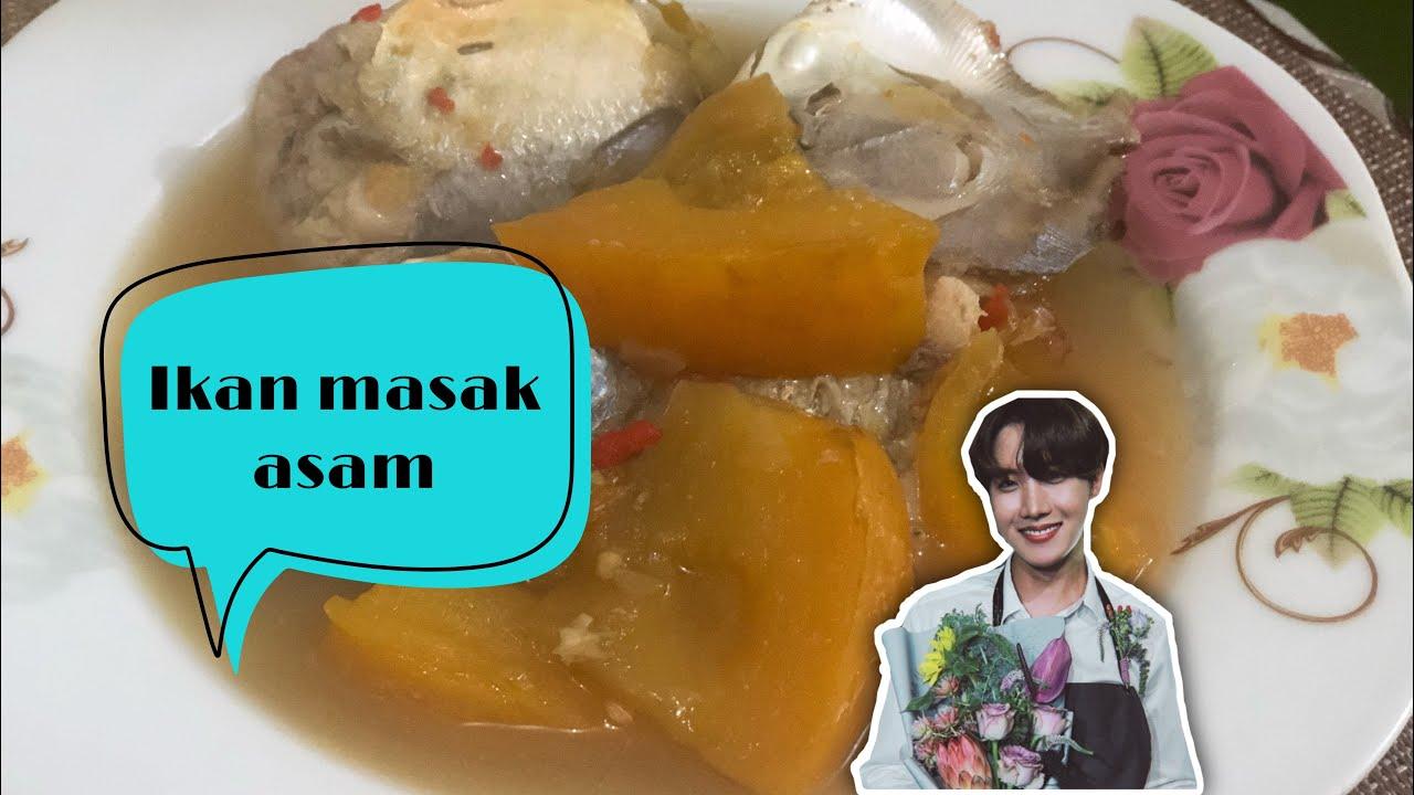 resepi ikan masak asam  mudah  sedap youtube Resepi Masak Ikan Lumek Enak dan Mudah