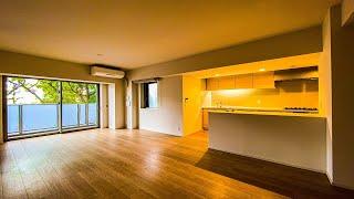 【高級マンション】窓から緑を望む高級感のあるお部屋。三菱地所の手掛ける分譲マンション。「ザ・パークハウス文京千石一丁目」