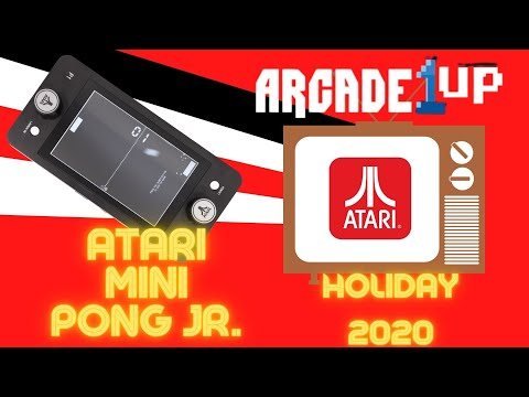 Pong Jr Table Atari and Arcade1up super team. from Ur Average Gamer