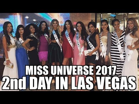 MISS UNIVERSE 2017 - 2nd day of activities.