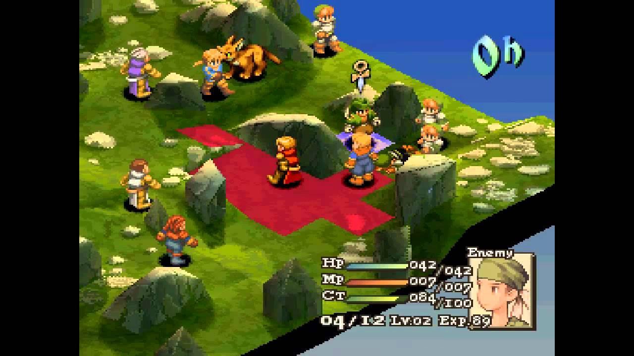 Final Fantasy Tactics ... (PS1) Gameplay