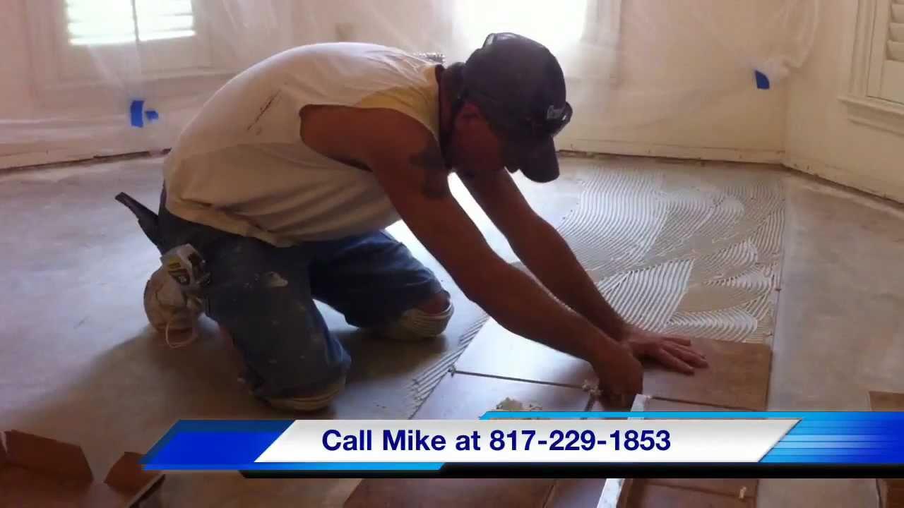 Burleson handyman ceramic tile work burleson texas 76028 youtube dailygadgetfo Images