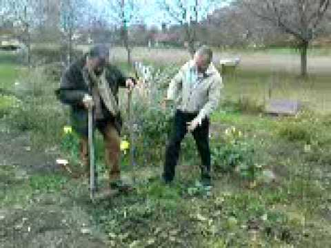 Jardinage biologique outil d 39 a ration du sol jardin - Comment retourner la terre du jardin ...