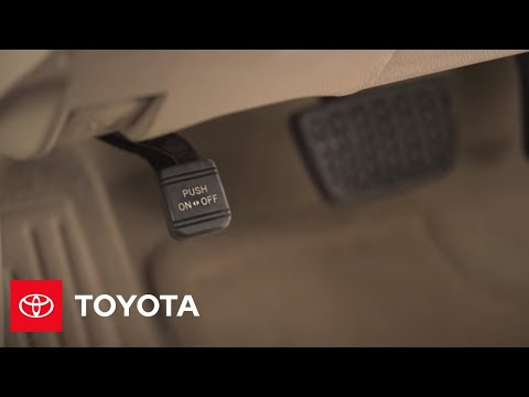 2014.5 Camry How-To: Parking Brake | Toyota - YouTube