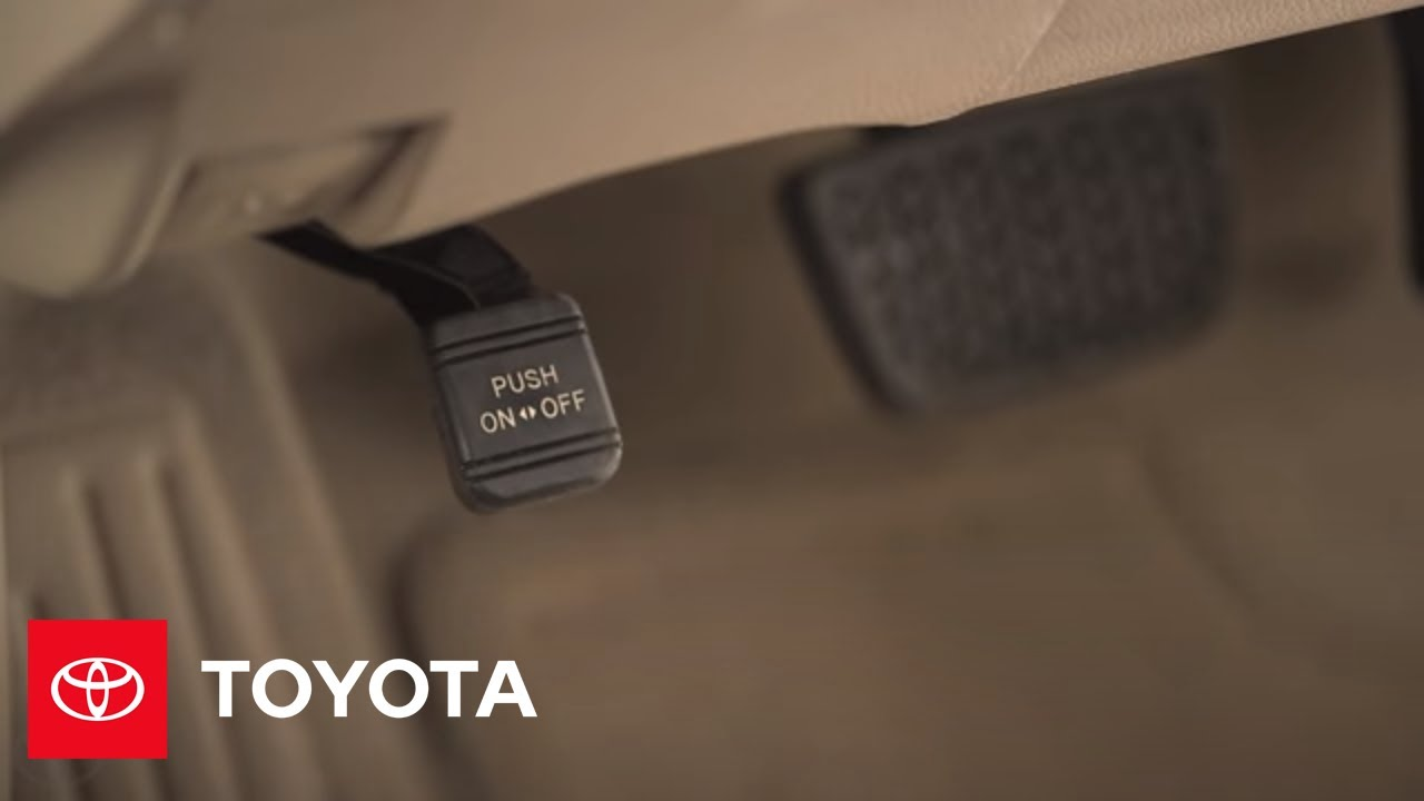 2017 5 Camry How To Parking Brake Toyota