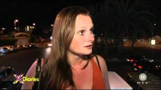 RTL2 - X-Diaries - love sun & fun - Mirella Joshua Streit vor Disco