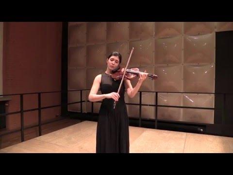 rimma Benyumova - J.S.Bach Partita No. 3 in E-dur BWV 1006 Movt. II