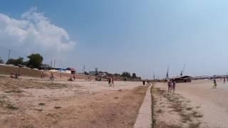 Дорожка вдоль пляжа  Хорлы  Херсонская область  Украина