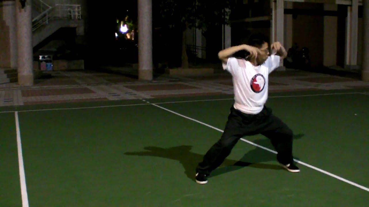 BAJI quan八極拳初階之小八極 - 止戈武塾 NOV.2009. - YouTube