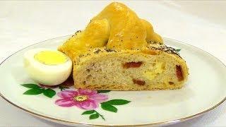 Пасхальный пирог. Традиционная итальянская выпечка.