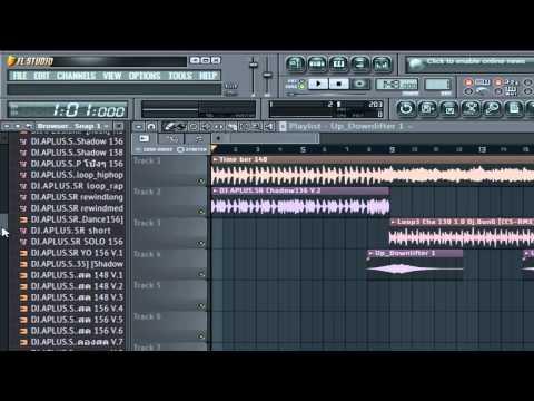 สอนรีมิกเพลงด้วยโปรแกรม FL Studio 11 bass EASY-REMIX.DJ.APLUS