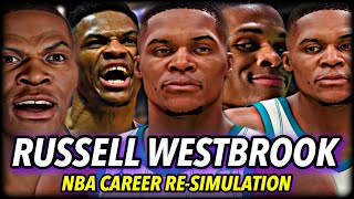 RUSSELL WESTBROOK'S NBA CAREER RE-SIMULATION | CAN HE WIN RINGS? | NBA 2K21 NEXT GEN