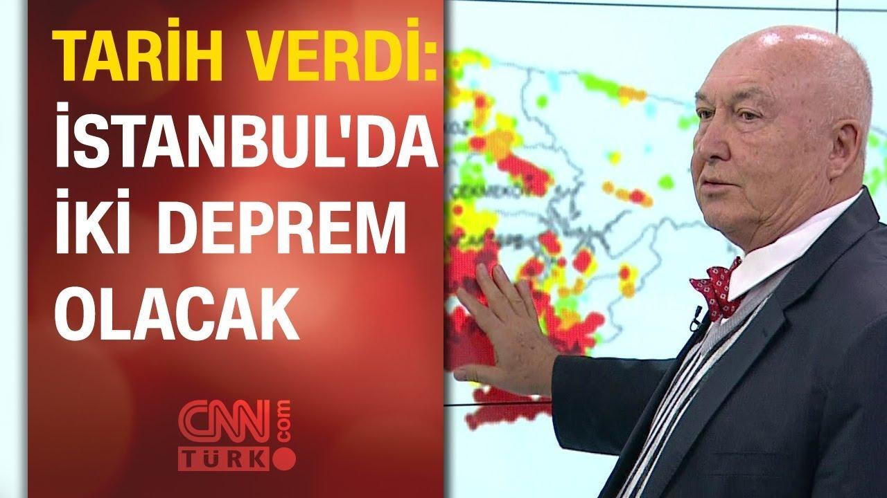 Ünlü profesör tarih verdi: İstanbul'da iki deprem olacak