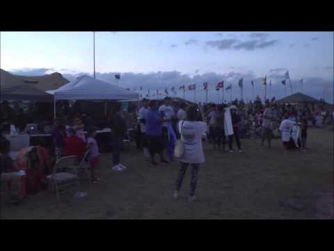 owens valley paiute tribe at the sacred stone camp at Standing Rock ND