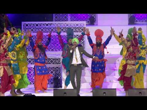 Ranjeet Bawa at Virasat Punjabi Film Awards Melbourne