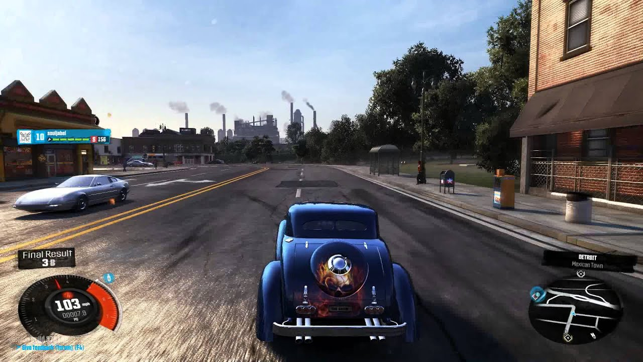 The Crew Beta Gameplay With The Kit Car Hot Rod Youtube
