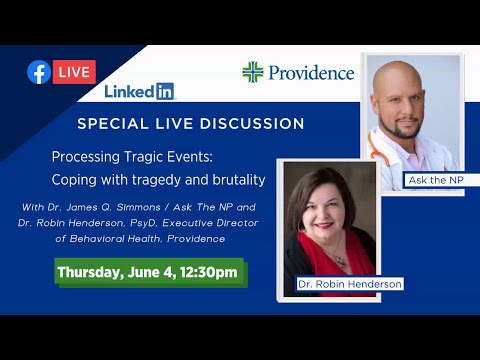 Facebook Live - Processing Tragic Events