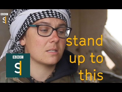 Why ex maths student joined group of Kurdish female fighters - BBC Stories