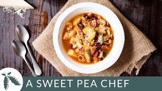 Easy Minestrone | A Sweet Pea Chef