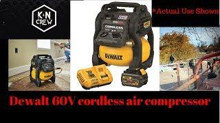 Dewalt Cordless Air Compressor