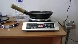 Индукционный вок стакан. Индукционная плита для вок
