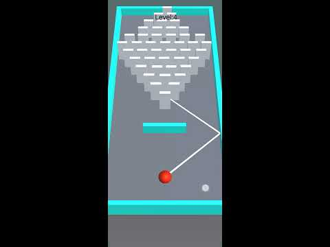 Domino Fall 3D - Relaxing endless ball & hit game 홍보영상 :: 게볼루션