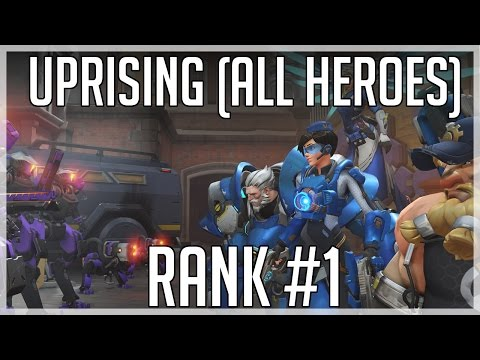 [Overwatch] Uprising (All Heroes) Legendary - Rank #1 NA/EU (Rank #2 Global)