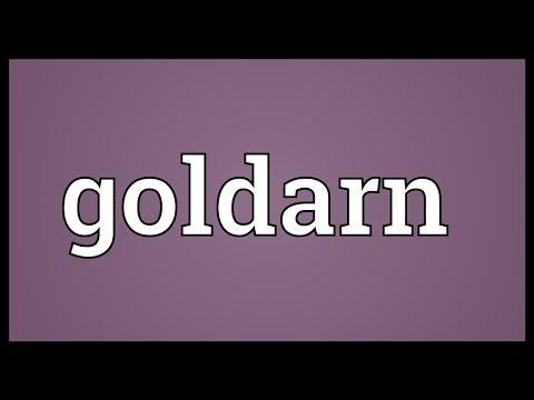 Header of goldarn