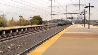 Amtrak Acela Express and Silver Meteor