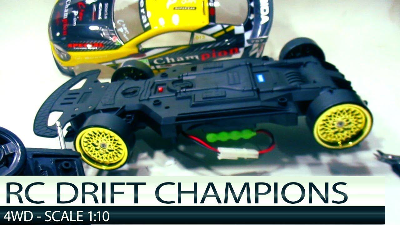 Mainan Mobil Remote Control 4x4 Champions Rc Cars Drift Nissan Gtr