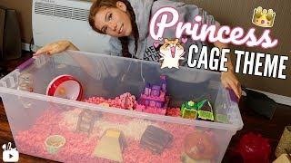 PRINCESS CAGE THEME!! 👑