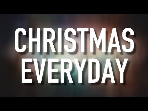 Christmas Everyday  Lyric  Unspoken