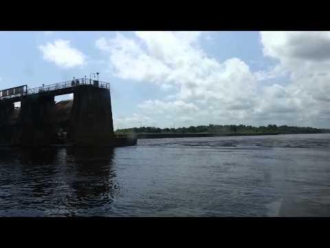 Columbia Lock and Dam. Columbia Louisiana. Dam Survey.