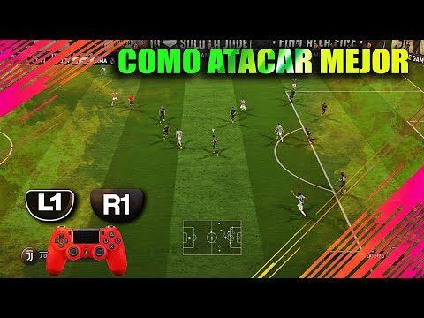 Como Atacar Mejor En FIFA 18 Ultimate Team Parte 2 - Truco L1 R1 En Español I TUTORIAL I