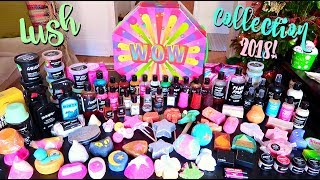 MY MASSIVE LUSH COLLECTION 2018!!!