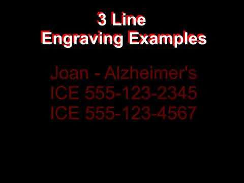 Medical ID Jewelry – What to Engrave Part 2