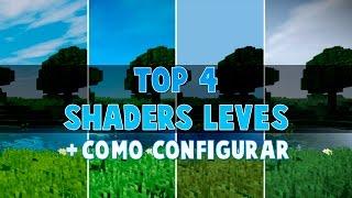 TOP 4 Shaders LEVES + Configuração [Passo a Passo]