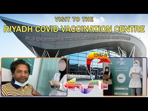Riyadh Covid Vaccination centre  Pfizer vaccine in Saudi   covid 19 vaccines pfizer vaccine covid 19