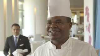 Meet Samson Peter Odoul, Chef De Partie, Raffles Dubai