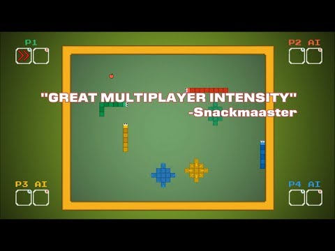 Snake Vs Snake - Fast Paced Snake Game With An Insane Battle Mode On Xbox One & Nintendo Switch & PC