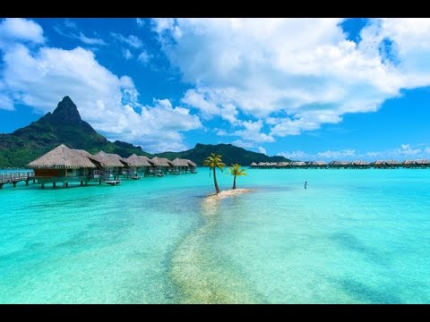 Wonderful Matira Beach Bora In French Polynesia